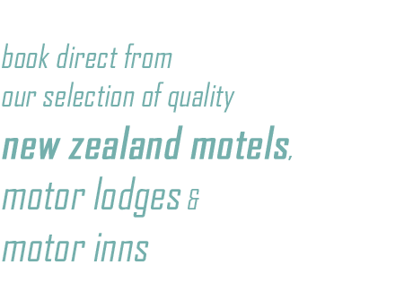 Motels, Motor Lodges & Motor Inss